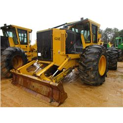 2014 TIGERCAT 620E SKIDDER, VIN/SN:6206230 - GRAPPLE, DUAL ARCH, WINCH, ECAB W/AIR, 30.5-32 TIRES