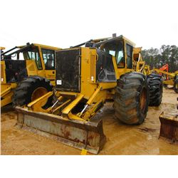 2014 TIGERCAT 620E SKIDDER, VIN/SN:6206443 - GRAPPLE, DUAL ARCH, ECAB W/AIR, 30.5L-32 TIRES, METER R