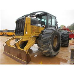2010 CAT 535C SKIDDER, VIN/SN:53500371 - GRAPPLE, DUAL ARCH, WINCH, ECAB W/AIR, 30.5-32 TIRES, METER