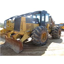 2006 CAT 535C SKIDDER, VIN/SN:53500222 - GRAPPLE, DUAL ARCH, WINCH, ECAB W/AIR, 30.5L-32 TIRES, METE