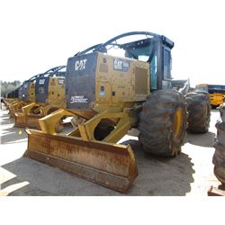 2015 CAT 525D SKIDDER, VIN/SN:GKP00229 - GRAPPLE, SINGLE ARCH, WINCH, ECAB W/AIR, 30.5L32 TIRES, MET