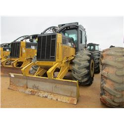 2012 CAT 525C SKIDDER, VIN/SN:52501432 - GRAPPLE, DUAL ARCH, WINCH, ECAB W/AIR, 30.5-32 TIRES