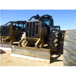 2015 CAT 525C SKIDDER, VIN/SN:52501221 - GRAPPLE, SINGLE ARCH, WINCH, ECAB W/AIR, 30.5R32 TIRES, MET