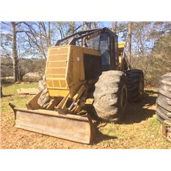 2005 CTR 950 SKIDDER, VIN/SN:SK15283 - GRAPPLE, DUAL ARCH, WINCH, ECAB W/AIR, HD AXLES (SELLING OFFS