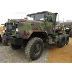 HARSCO M931A-2 TRUCK TRACTOR, VIN/SN:3200122 - 5 TON 6X6 MILIARY, T/A, DIESEL ENGINE, A/T, 14:00R20