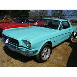 1966 FORD MUSTANG, VIN/SN:6F07T674171 - GAS ENGINE, A/T