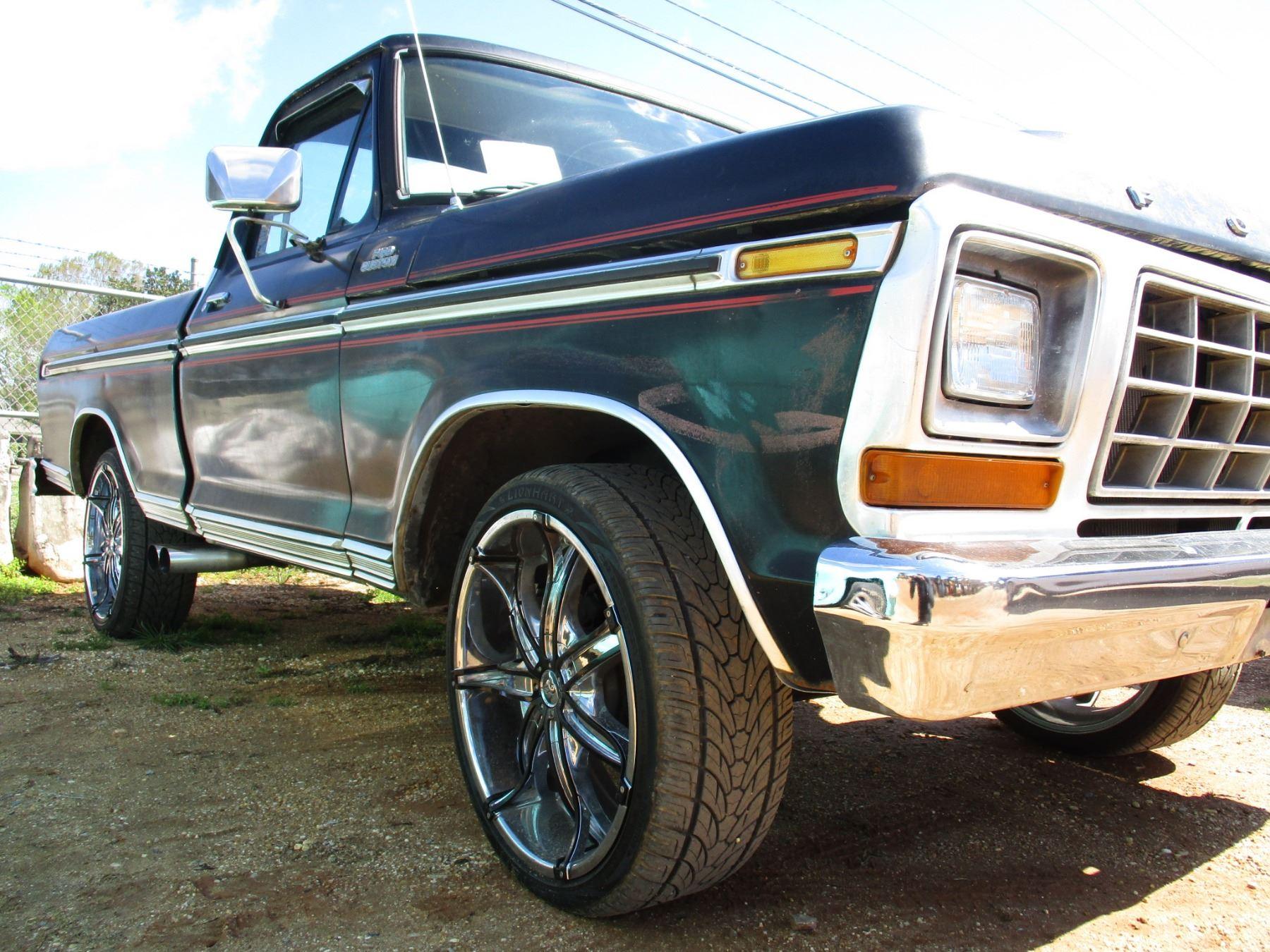 1979 FORD F100 PICKUP, VIN/SN:F10GNFA2914 - GAS ENGINE, A ...