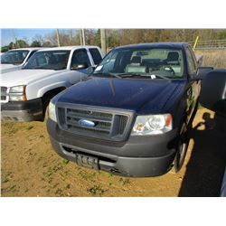 2008 FORD F150 PICK UP, VIN/SN:1FTRF12W48KC52198 - EXTENDED CAB, V8 GAS ENGINE, A/T, TOOL BOX, ODOME