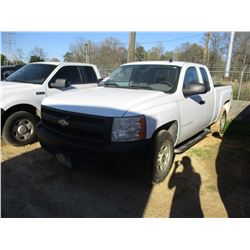2008 CHEVY SILVARADO VIN/SN:2GCEK1951812551868 - 4X4, EXT CAB, V8 GAS ENGINE, A/T, ODOMETER READING