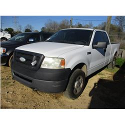 2007 FORD F150 VIN/SN:1FTPX14V87NA68064 - 4X4, EXT CAB, V8 GAS ENGINE, A/T, ODOMETER READING 231,384