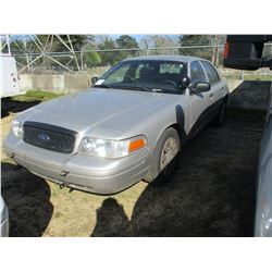 2008 FORD CROWN VICTORIA VIN/SN:2FAHP71V88X159580 - V8 GAS ENGINE, A/T (STATE OWNED)