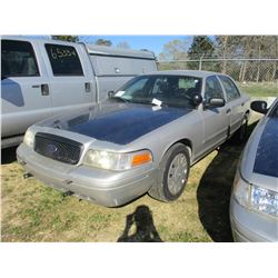 2007 FORD CROWN VICTORIA VIN/SN:2FAHP71W57X145031 - V8 GAS ENGINE, A/T (STATE OWNED)