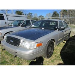 2009 FORD CROWN VICTORIA VIN/SN:2FAHP71VX9X100659 - V8 GAS ENGINE, A/T (STATE OWNED)