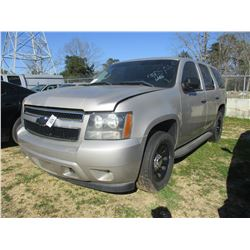 2009 CHEVROLET TAHOE, VIN/SN:1GNEC03009R261251 - V8 GAS ENGINE, A/T (STATE OWNED)