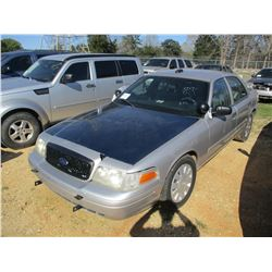 2009 FORD CROWN VICTORIA VIN/SN:2FAHP71V09X143360 - V8 GAS ENGINE, A/T (STATE OWNED)