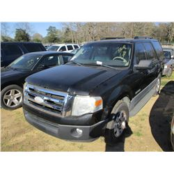 2007 FORD EXPEDITION VIN/SN:1FMFU15517LA83970 - V8 GAS ENGINE, A/T (STATE OWNED)