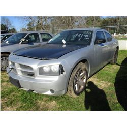 2010 DODGE CHARGER, VIN/SN:2B3CA4CT4AH272590 - V8 GAS ENGINE, A/T (STATE OWNED)