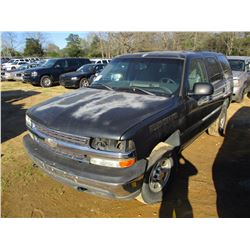 2005 CHEVROLET TAHOE VIN/SN:1GNEK13Z85J205462 - GAS ENGINE, A/T (STATE OWNED)