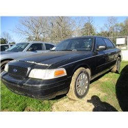 2006 FORD CROWN VICTORIA, VIN/SN:2FAHP71W16X143548 - V8 GAS ENGINE, A/T (STATE OWNED)