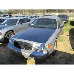 2010 FORD CROWN VICTORIA VIN/SN:2FABP7BV7AX106623 - V8 GAS ENGINE, A/T (STATE OWNED) (TITLE DELAY)