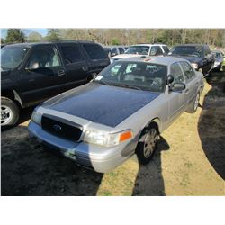 2005 FORD CROWN VICTORIA, VIN/SN:2FAHP71W557X145000 - GAS ENGINE, A/T (STATE OWNED)