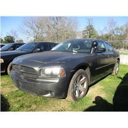 2008 DODGE CHARGER, VIN/SN:2B3LA43HX8H216417 - V8 GAS ENGINE, A/T, ODOMETER READING 182,687 MILES (S