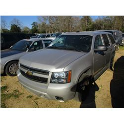 2007 CHEVROLET TAHOE VIN/SN:1GNEC03017R399667 - V8 GAS ENGINE, A/T, ODOMETER READING 230,568 MILES (