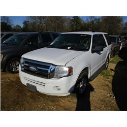 2009 FORD EXPEDITION VIN/SN:1FMFU15579LA09391 - V8 GAS ENGINE, A/T, ODOMETER READING 182,342 MILES (