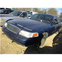 2005 FORD CROWN VICTORIA VIN/SN:2FAHP71W25X146599 - V8 GAS ENGINE, A/T (STATE OWNED)