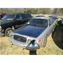 2007 FORD CROWN VICTORIA VIN/SN:2FAHP71W07X145051 - V8 GAS ENGINE, A/T (STATE OWNED)