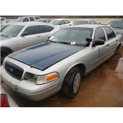 2004 FORD CROWN VICTORIA VIN/SN:2FAHP71W34X171607 - V8, A/T (DOES NOT OPERATE) (STATE OWNED)