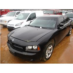 2010 DODGE CHARGER VIN/SN:2B3AA4CT5AH117523 - V8 GAS ENGINE, A/T (DOES NOT OPERATE) (STATE OWNED)