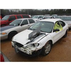 2005 FORD TAURUS SE VIN/SN:1FAFP53U65A260850 - A/T (DOES NOT OPERATE) (STATE OWNED)