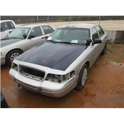2006 FORD POLICE INTERCEPTOR, VIN/SN:2FAHP71W56X147232 - V8, A/T (DOES NOT OPERATE) (STATE OWNED)