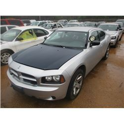 2010 DODGE CHARGER POLICE INTERCEPTOR, VIN/SN:2B3CA4CT8AH255047 - V8 ENGINE, A/T (DOES NOT OPERATE)