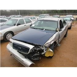 2007 FORD CROWN VICTORIA VIN/SN:2FAHP71W67X145023 - V8 GAS ENGINE, A/T (DOES NOT OPERATE) (STATE OWN