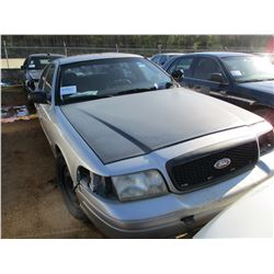 2007 FORD POLICE INTERCEPTOR, VIN/SN:2FAHP71W57X158877 - V8 ENGINE, A/T (DOES NOT RUN) (STATE OWNED)