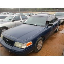 2005 FORD POLICE INTERCEPTOR, VIN/SN:2FAHP71W55X146595 - V8 ENGINE, A/T (DOES NOT RUN) (STATE OWNED)