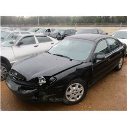 2005 FORD TAURUS SE VIN/SN:1FAFP53U35A260899 - V6 ENGINE, A/T (DOES NOT RUN) (STATE OWNED)