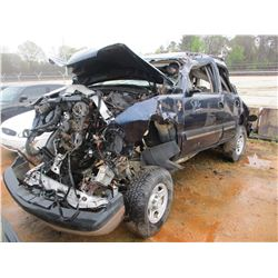 2006 CHEVROLET TAHOE VIN/SN:1GNEK13Z66R143269 - V8 GAS ENGINE, A/T (DOES NOT OPERATE) (STATE OWNED)