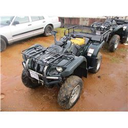 YAMAHA GRIZZLY 4 WHEELER, VIN/SN:JY4AM03Y85C057772 - WINCH, REAR BASKET, 4X4 (DOES NOT RUN) (STATE O