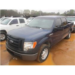2012 FORD F150, VIN/SN:1FTEW1CM0CKD71337 - GAS ENGINE, A/T, CREW CAB, P/S, P/W, PWL, ODOMETER READIN