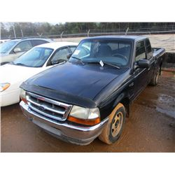 2001 FORD RANGER PICK UP, VIN/SN:1FTYR14U11TA70361 - GAS ENGINE, A/T, ODOMETER READING 210,144 MILES