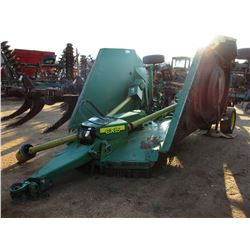 JOHN DEERE CX15 ROTARY CUTTER, VIN/SN:038414 - 15' BATWING, HYDRAULIC LIFT (COUNTY OWNED)