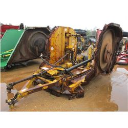 """BUSH-WHACKER ROTARY CUTTER, VIN/SN:4005 - BATWING, 15"""" (COUNTY OWNED)"""