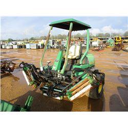 JOHN DEERE 3225B REEL MOWER, VIN/SN:010386 - JOHN DEERE DIESEL ENGINE, METER READING 2708 HOURS