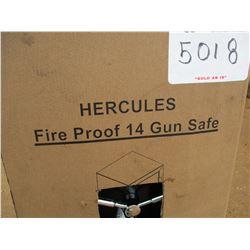 14 GUN SAFE FIRE PROOF