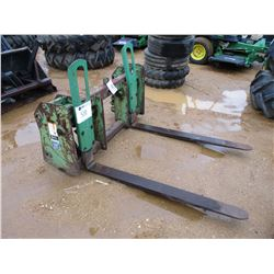 FORK ASSEMBLY, FITS FARM TRACTOR LOADER