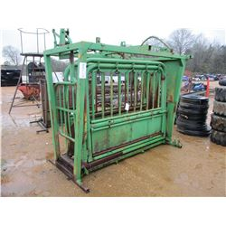LIVESTOCK HEAD CATCHER AND HANDLING CAGE