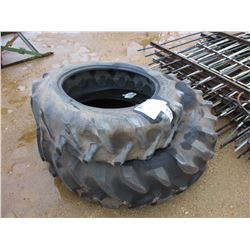 (2) MISC SIZE TIRES